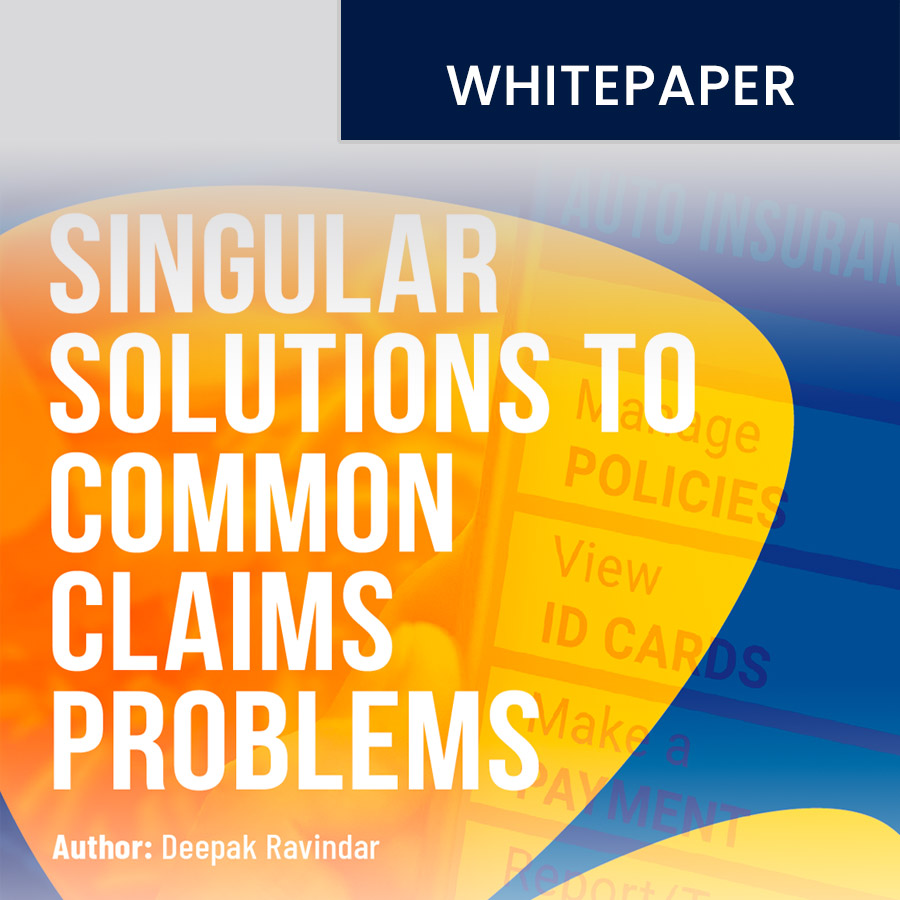 Singular Solutions to Common Claims Problems